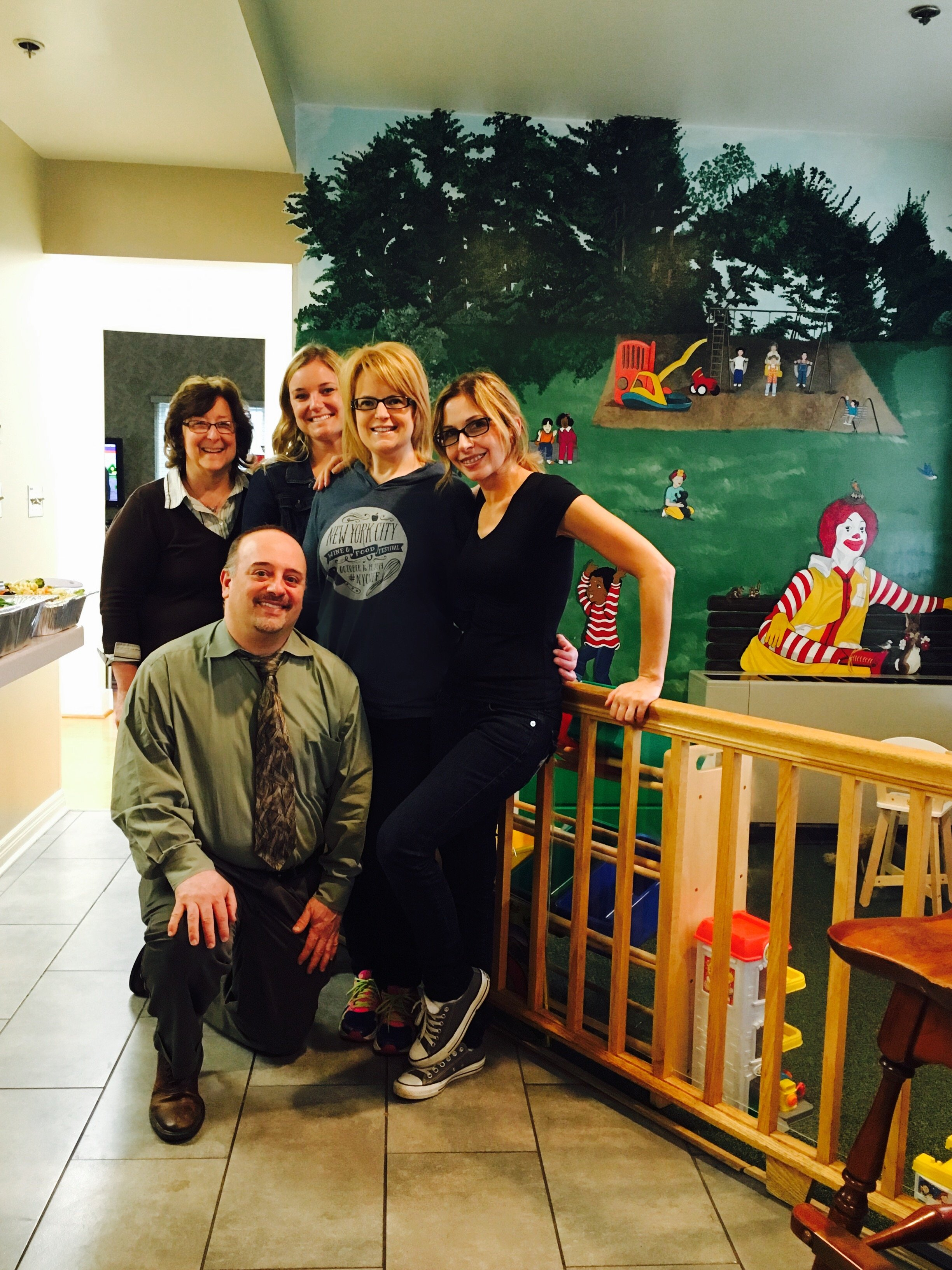 dr attardi and team at ronald mcdonald house